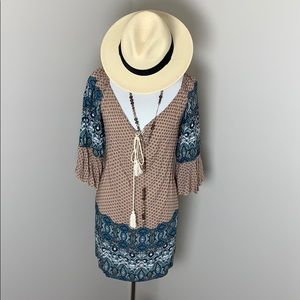 Romantic Umgee Boho Dress